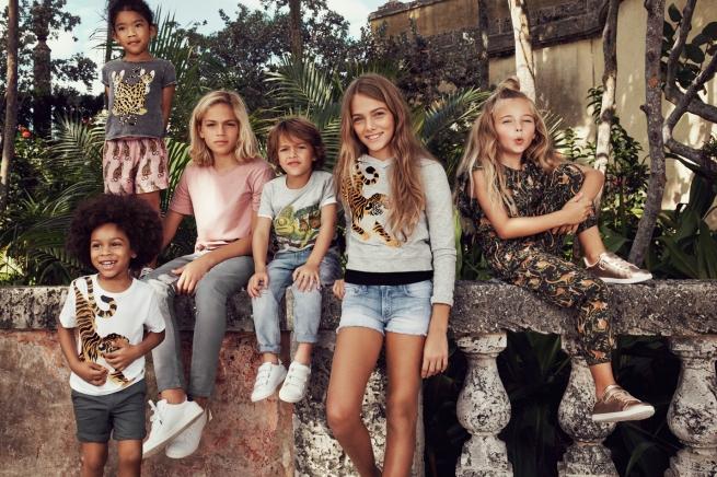 H&M впервые выпустил коллекцию одежды для детей из отходов