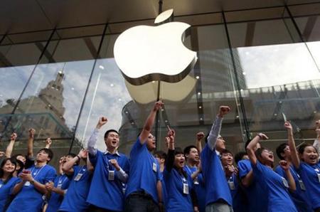 Объем продаж Apple в Китае впервые превысил статистику США