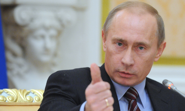 Путин одобрил введение налога с продаж