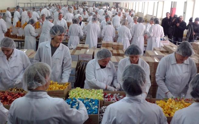 Импорт украинских кондитерских изделий в Россию в 2014 году сократится на 50%