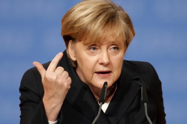 Меркель призвала работать над открытием зоны свободной торговли между США и ЕС