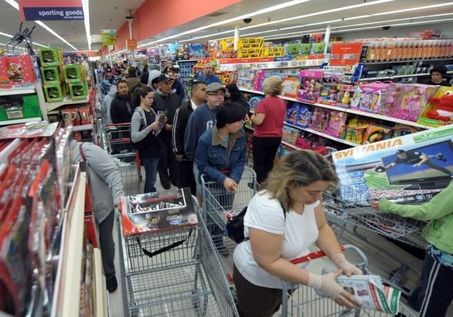 «Ашан» отмечает снижение покупательской активности россиян