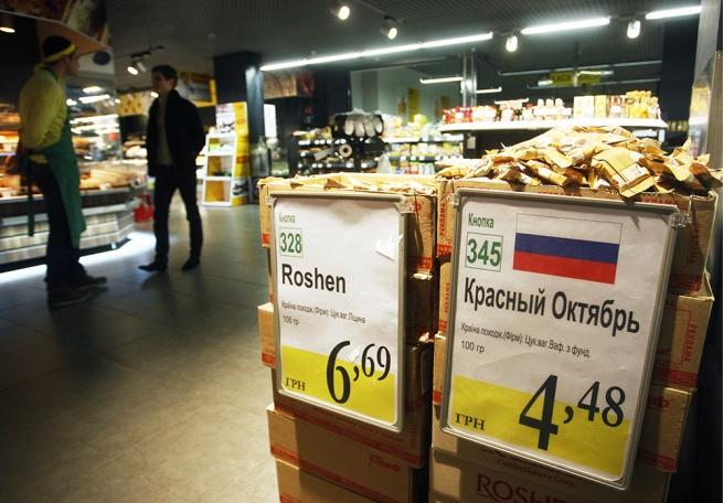 Россия собирается ввести квоты для товаров Украины