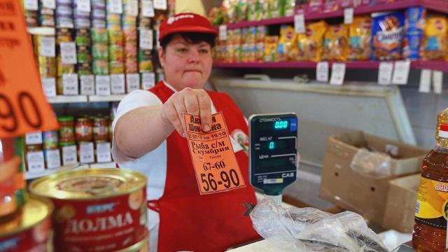 Более половины российских продуктов не соответствует нормам