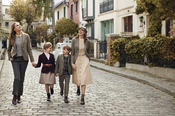 UNIQLO впервые включила в коллекцию Ines de la Fressange детские модели