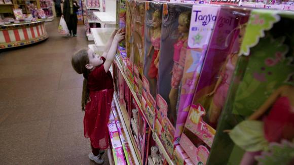 Вредные для детей игрушки предложили маркировать