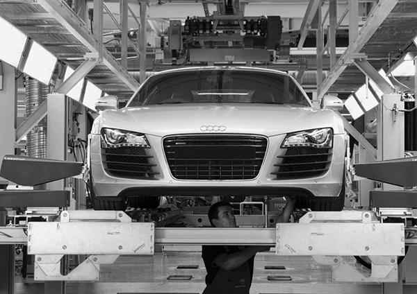 Компания Audi остановила сборку трех моделей на заводе в Калуге