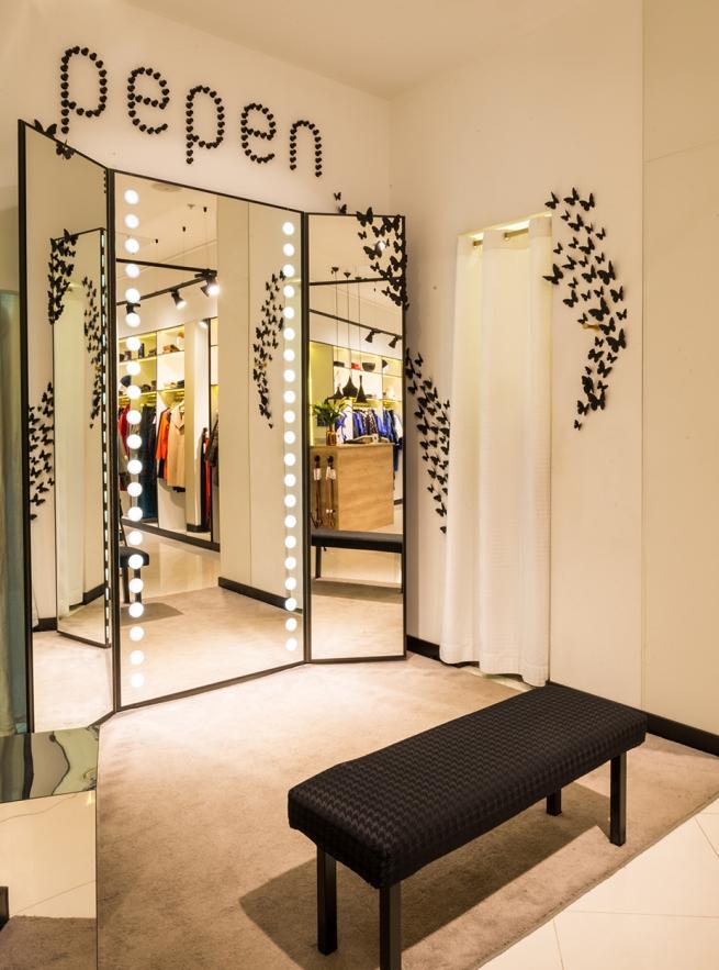 В «АФИМОЛЛ СИТИ» открылся монобрендовый бутик одежды PEPEN