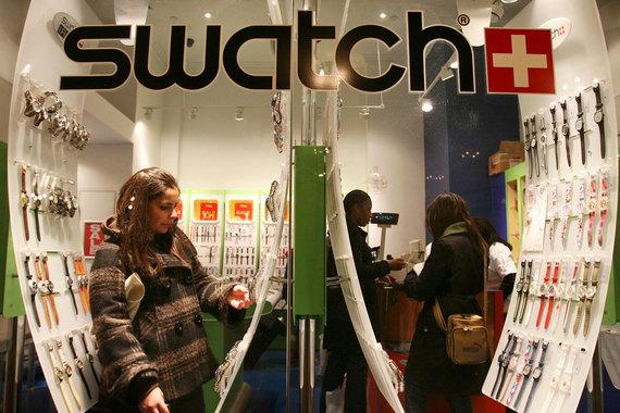 """Swatch хочет выйти на рынок """"умных"""" часов"""