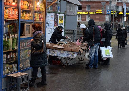 Москва начинает взимать торговые сборы с бизнеса