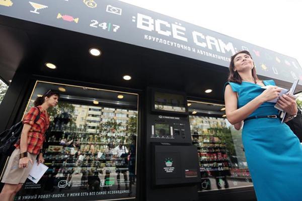 Москвичи одобрили установку магазинов-роботов в столице