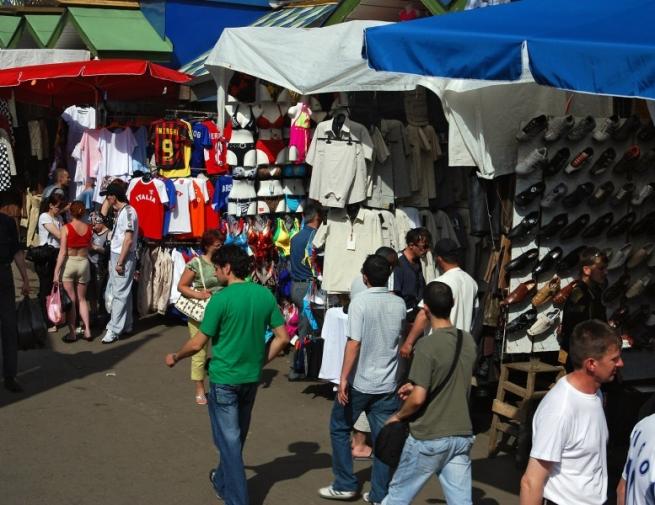 За последние пять лет количество рынков в Москве сократилось втрое