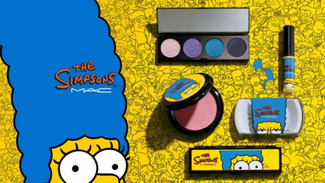 M.A.C выпустила косметическую серию от Мардж Симпсон
