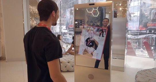 Microsoft разработала селфи-зеркало для H&M