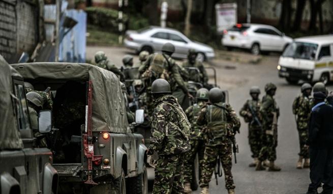 Владельцы магазинов в ТЦ Westgate в Найроби обвиняют военных в мародёрстве