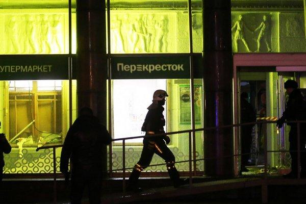 Суд Петербурга оставил под стражей обвиняемого в теракте в «Перекрестке»