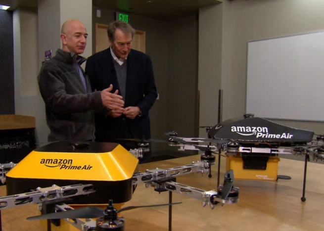 Amazon хочет выделить для дронов отдельную воздушную зону
