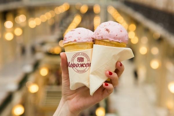 Мороженое из ГУМа станет брендом