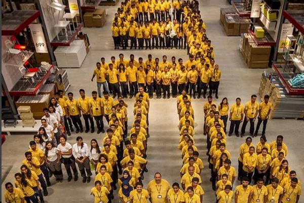 IKEA открыла первый магазин в Индии