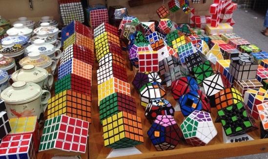 Таможня предотвратила ввоз тонны контрабандных кубиков Рубика