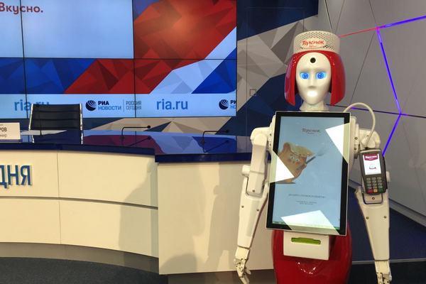 Робот-кассир «Маруся» сети ресторанов «Теремок»