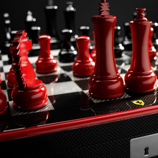 Ferrari выпустила в продажу коллекционные шахматы