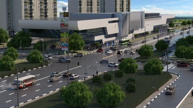 S.Holding займется строительством ТРЦ «Донской»