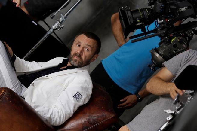 Сергей Шнуров принял участие в рекламной кампании Alcatel OneTouch POP8