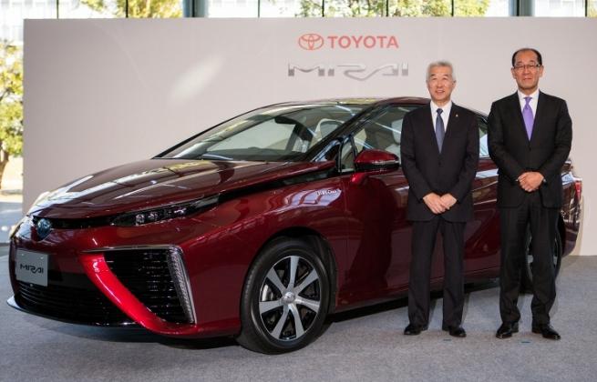 Toyota вложит $160 млн в производство автомобилей с водородными двигателями