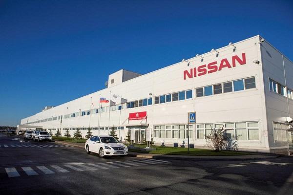 На заводе Nissan в Петербурге приостановили производство до 31 марта