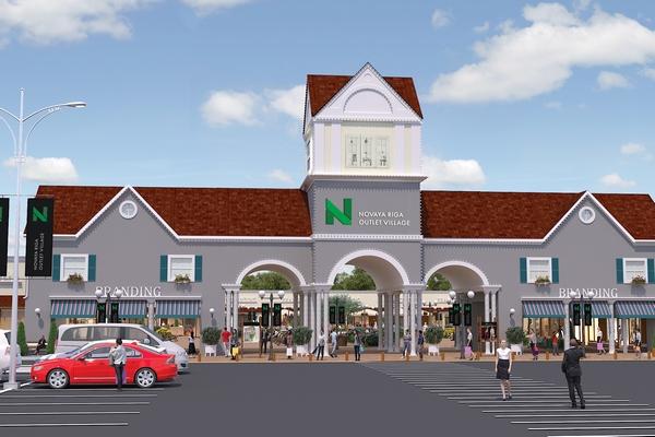 Аутлет-центр Novaya Riga Outlet Village откроется летом 2019 года