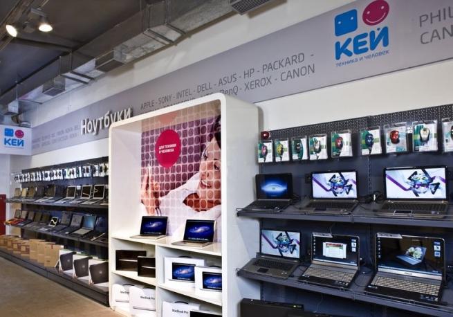 Сеть цифровой техники «Кей» будет сдавать площади в аренду