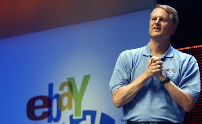 Гендиректор eBay уйдёт из компании в 2015 году