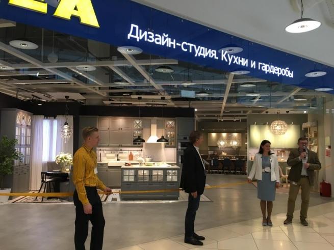 В ТРЦ «Авиапарк» открылся магазин ИКЕА в новом формате