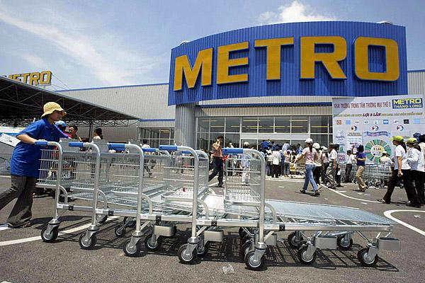 Ритейлер Metro потерял 60 млн евро из-за девальвации рубля в октябре-декабре 2014 года