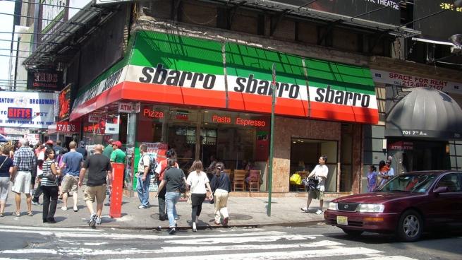 Sbarro близится к банкротству
