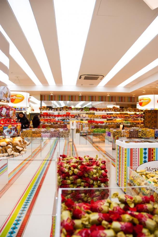 «Аленка» открыла в Москве супермаркет в формате самообслуживания