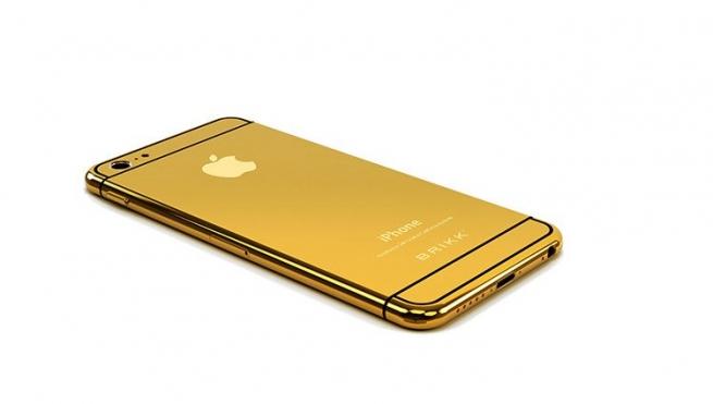 Открыт заказ на золотые и платиновые iPhone 6