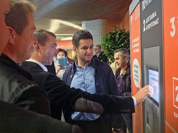 В московском метро появился первый почтомат