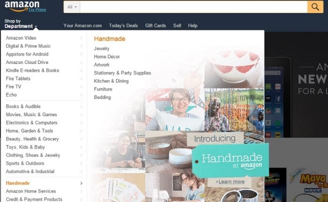 Amazon начал продавать товары ручной работы