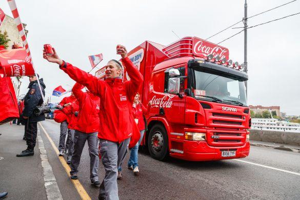 Сочинская Олимпиада подняла продажи Coca-Cola на 9%