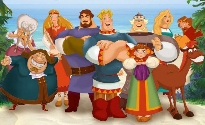 картинки герои русских мультфильмов