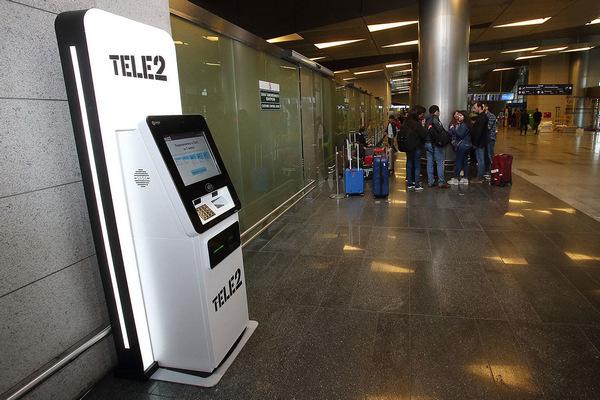 Tele2 начал продавать SIM-карты через автомат с системой распознавания лиц