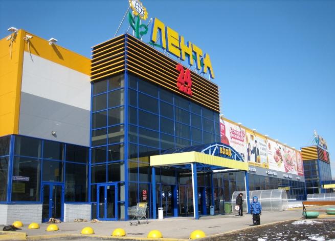 Первый гипермаркет «Лента» открылся в Республике Марий Эл