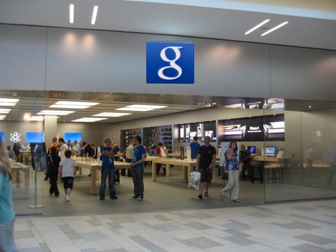 Google запускает торговую сеть