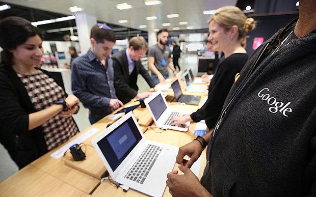 Google открыла свой первый магазин в Лондоне