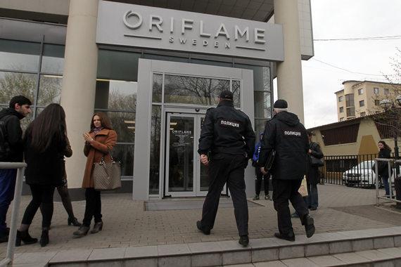 Обыски вофисе Oriflame прошли всвязи сналоговыми претензиями