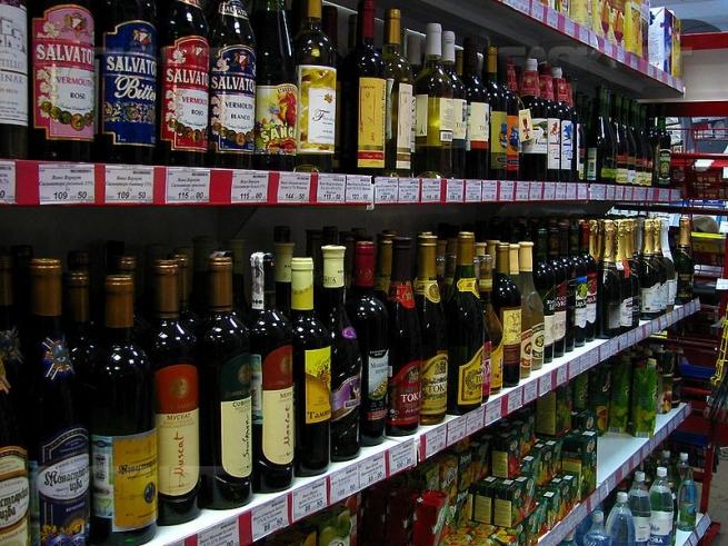 На бутылки с алкоголем могут поставить радио-метки
