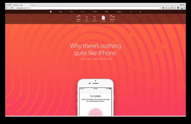 Официальный сайт Apple стал интернет-магазином