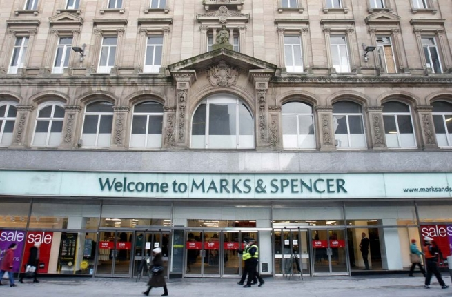 Marks & Spencer ушёл от Amazon